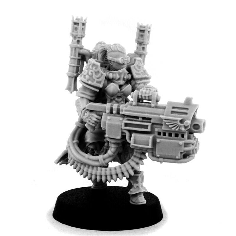 Wargame Exclusive EMPEROR SISTER WITH HEAVY BOLTGUN New