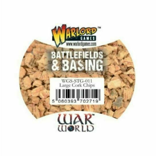 Warlord Games Battlefields & Basing: Large Cork Chips New