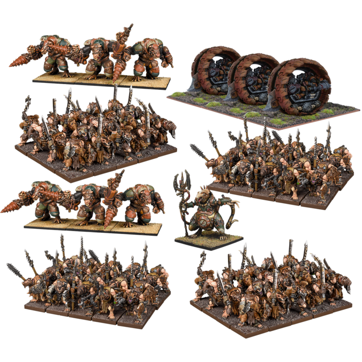 Kings of War Ratkin Mega Army Pre-Order - TISTA MINIS