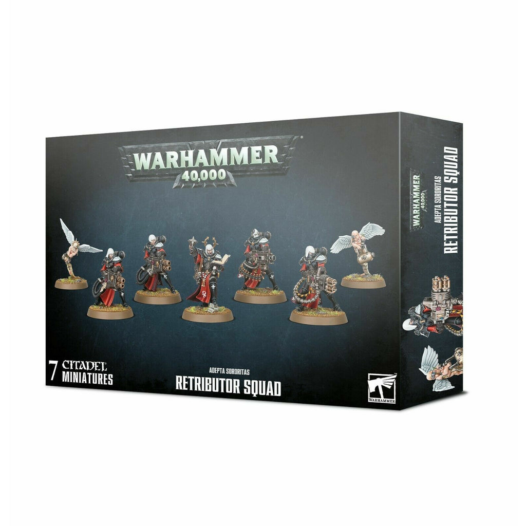 Warhammer Sisters of Battle ADEPTA SORORITAS RETRIBUTOR SQUAD New