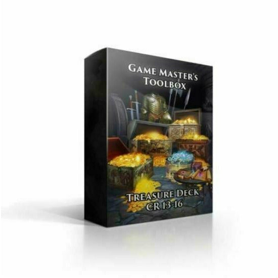 Game Master's Toolbox: Treasure Deck CR 13-16 New
