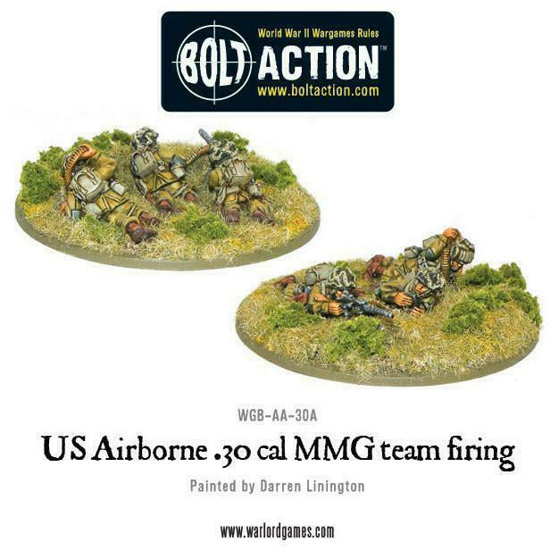 Bolt Action US Airborne 30 Cal MMG Team New