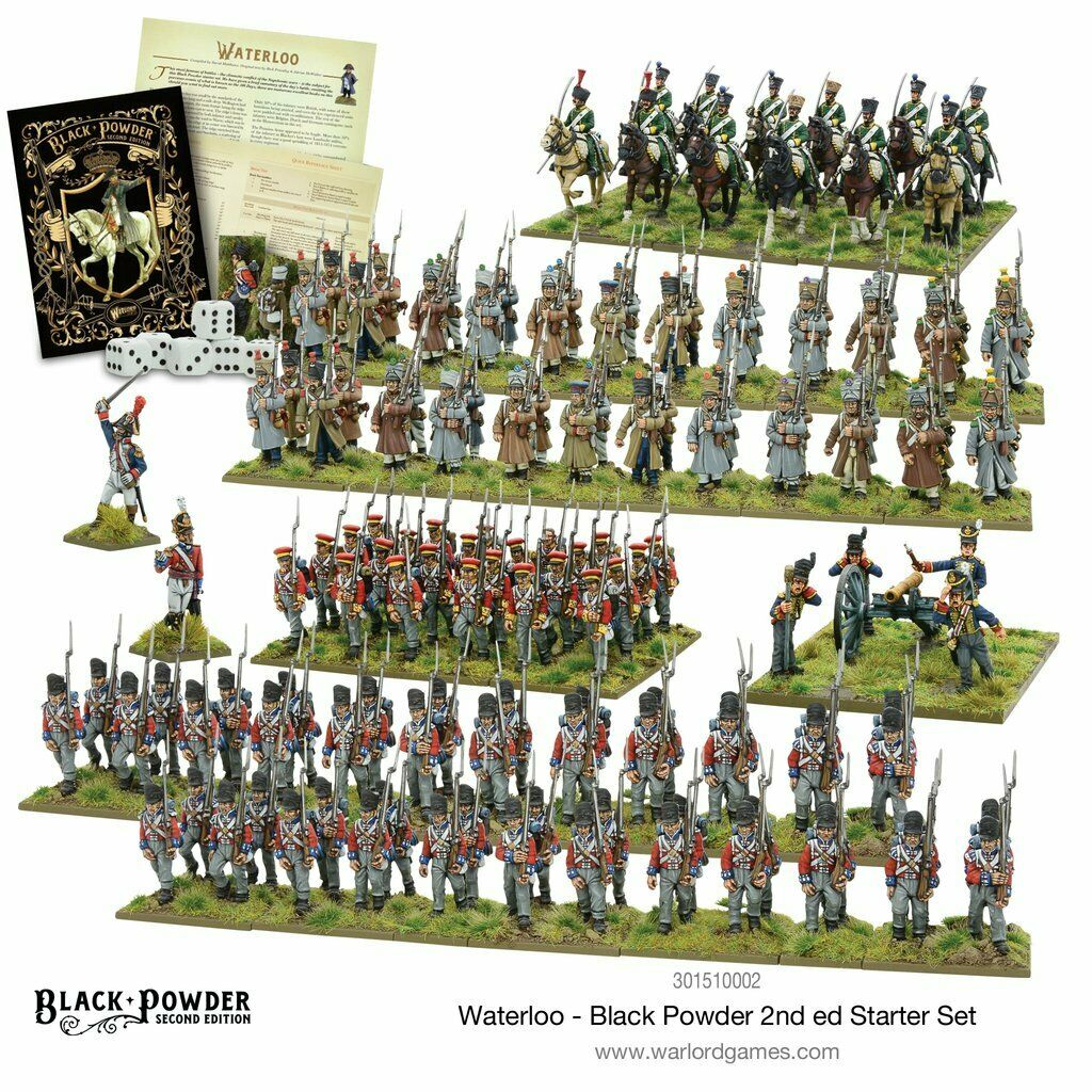 Black Powder 2nd edition Waterloo Starter Set New