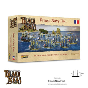 Warlord Games Black Seas French Navy Fleet (1770 - 1830) - 792012001