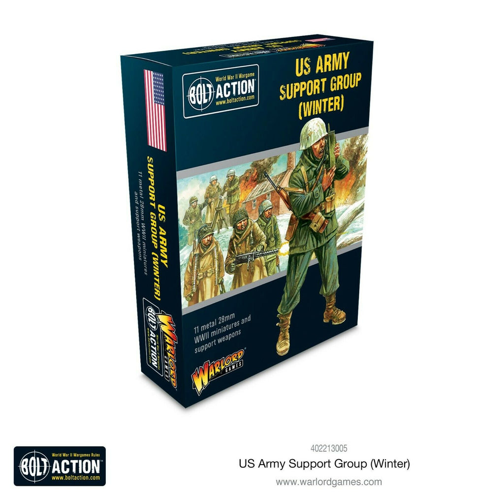 Bolt Action US Army Winter Support Group New