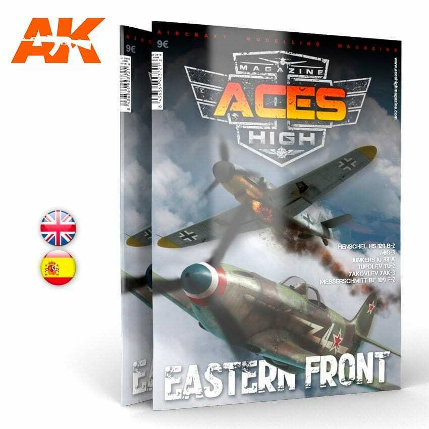 AK Interactive Issue 10. A.H. EASTERN FRONT New - TISTA MINIS