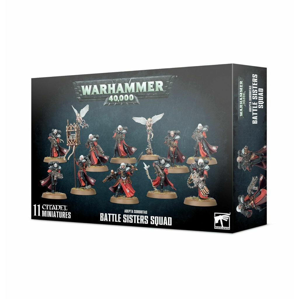 Warhammer Sisters of Battle ADEPTA SORORITAS BATTLE SISTERS SQUAD New