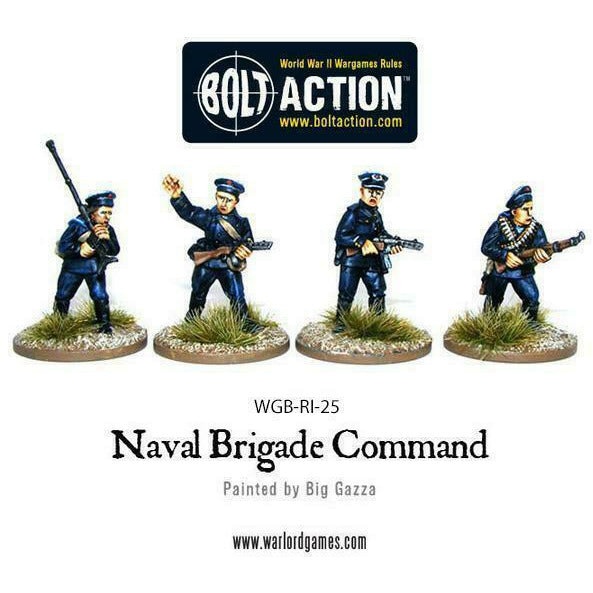 Bolt Action Soviet Naval Brigade Command New