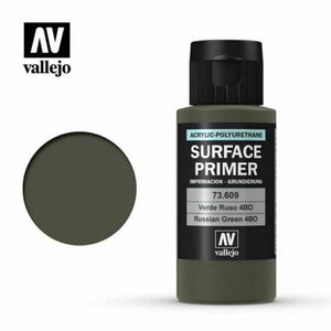 Vallejo Surface Primer Acrylic- Russian Green 60ml - TISTA MINIS