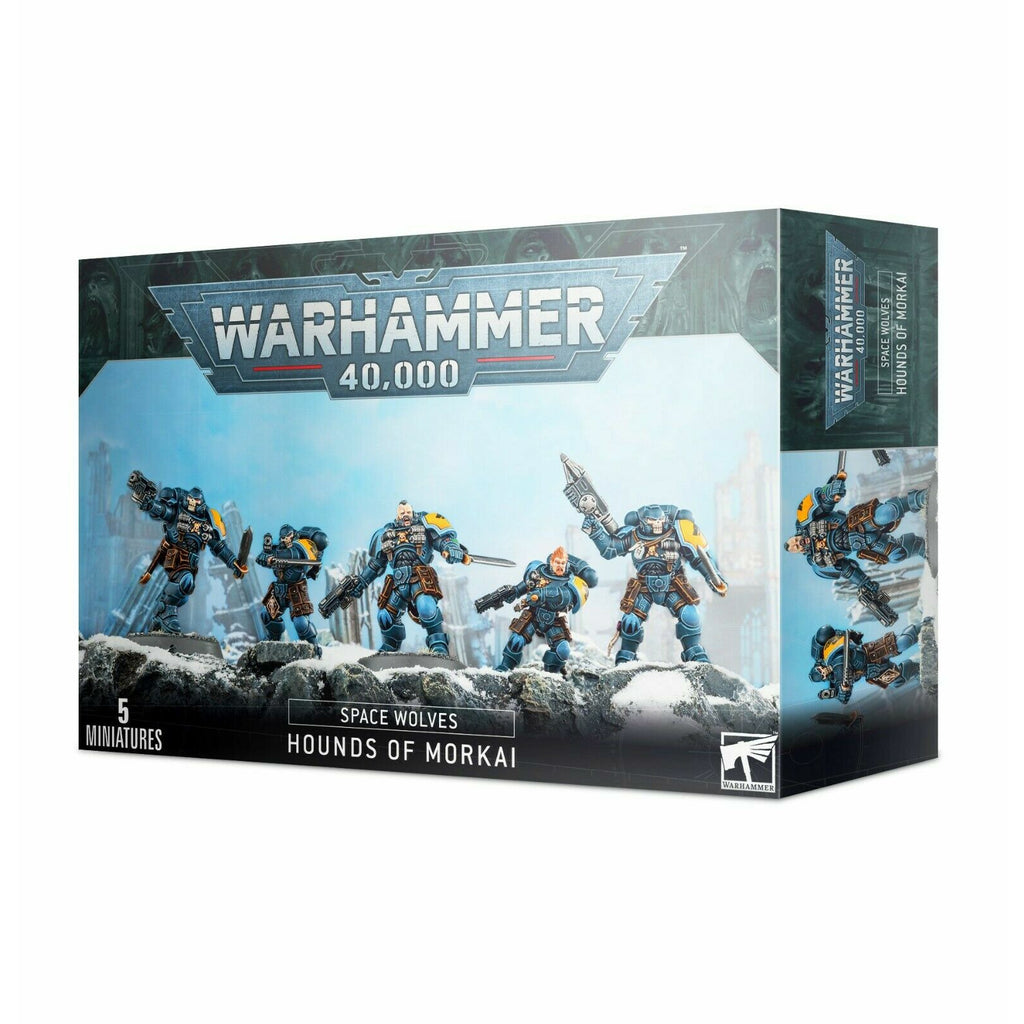 Warhammer SPACE WOLVES HOUNDS OF MORKAI New
