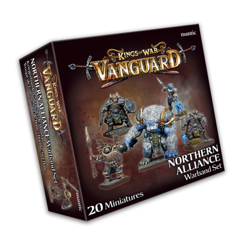 Kings of War Vanguard Northern Alliance Warband Set (2020) New - MGVAL103
