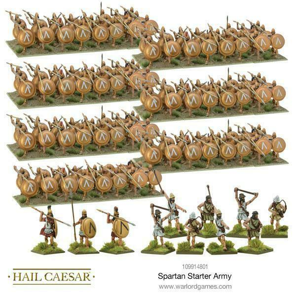 Hail Caesar Spartans Starter Army New