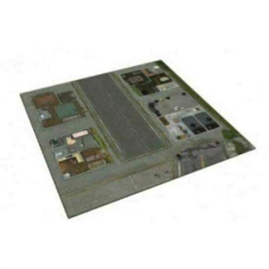 The Walking Dead: Neoprene Deluxe Mat Woodbury 2 New - TISTA MINIS