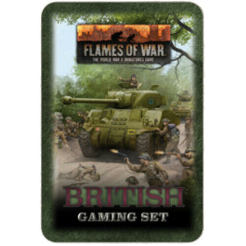 Flames of War British Gaming Set (x20 Tokens, x2 Objectives, x16 Dice) New - TISTA MINIS