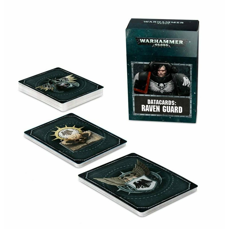 Warhammer Space Marines DATACARDS: RAVEN GUARD New