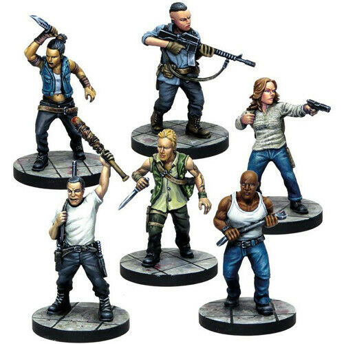 The Walking Dead Saviors Faction Pack New - TISTA MINIS