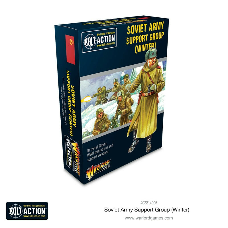 Bolt Action Soviet Army Support Group (Winter) New