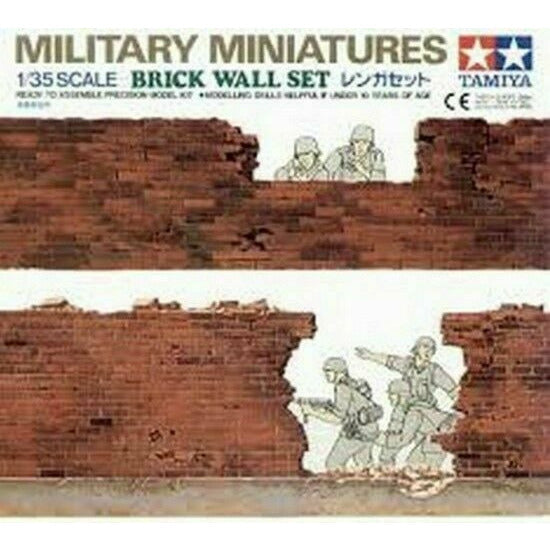 Tamiya Brick Wall Set (1/35) New