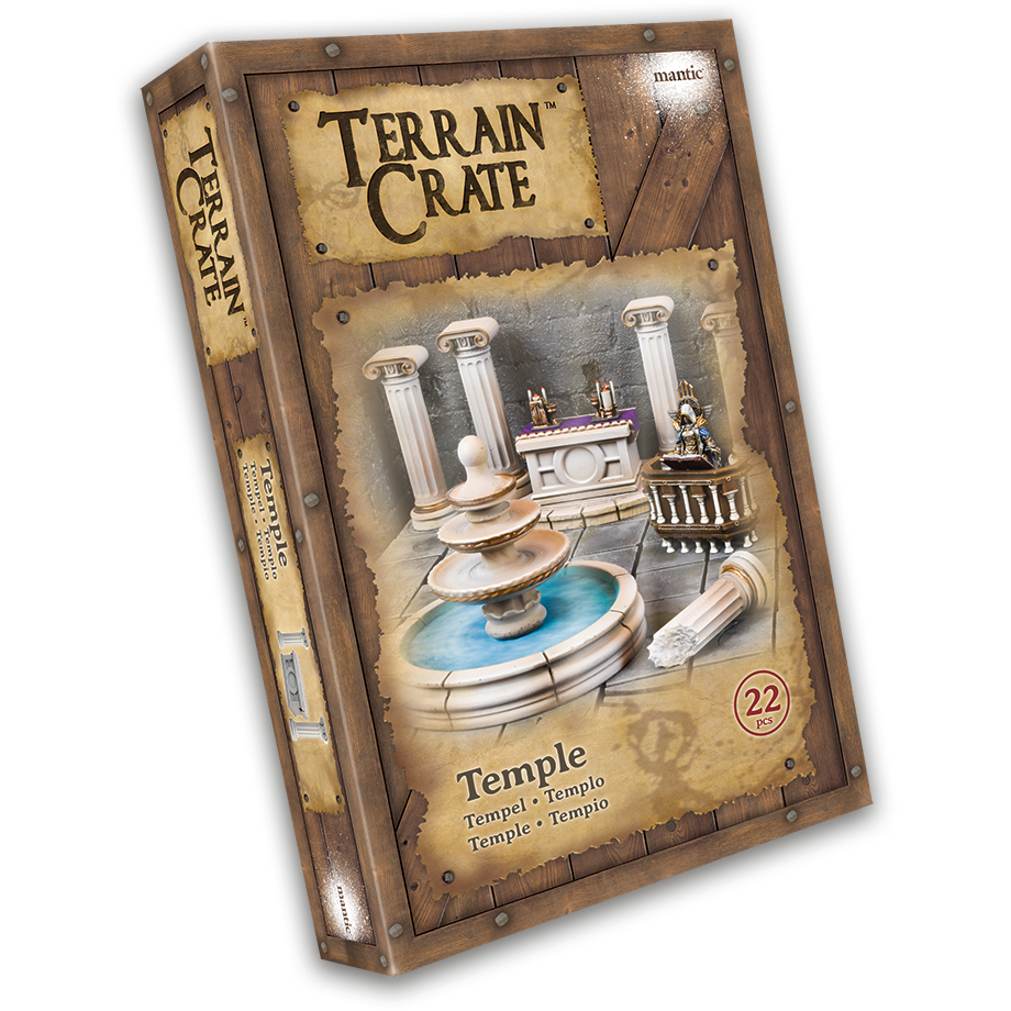 Terraincrate: Temple New  - MGTC116