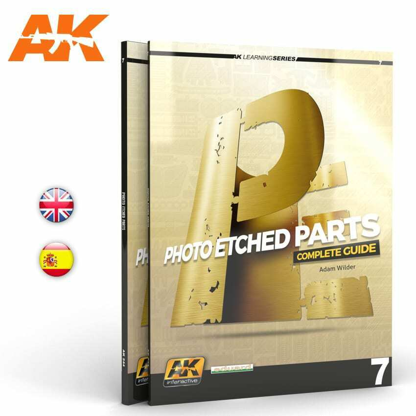 AK Interactive PHOTOETCH PARTS (AK LEARNING SERIES No7) Book New - TISTA MINIS