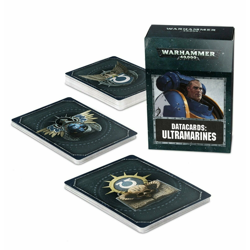 Warhammer Space Marine DATACARDS: ULTRAMARINES New