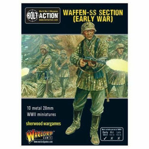 Bolt Action German Waffen SS Section (Early  War) New - 402212101