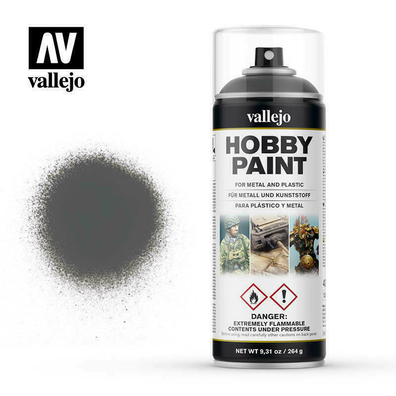 Vallejo Spray Paint Hobby Primer UK Bronze Green New - TISTA MINIS