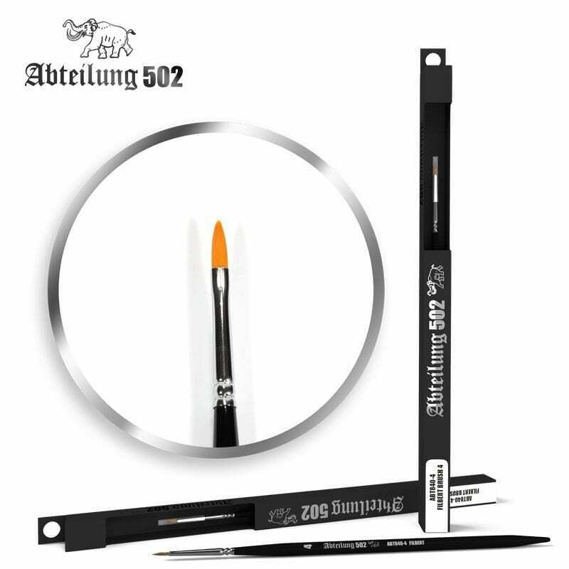 Abteilung502 Filbert Brush 4 New - TISTA MINIS
