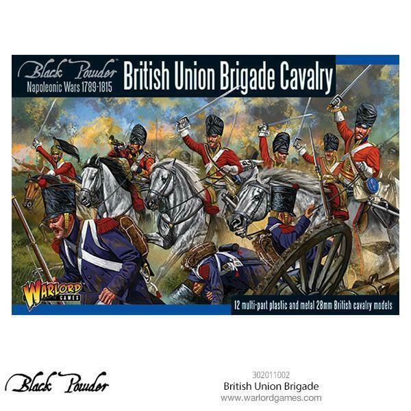 Black Powder Napoleonic Wars 1789-1815  British Union Brigade Cavalry New