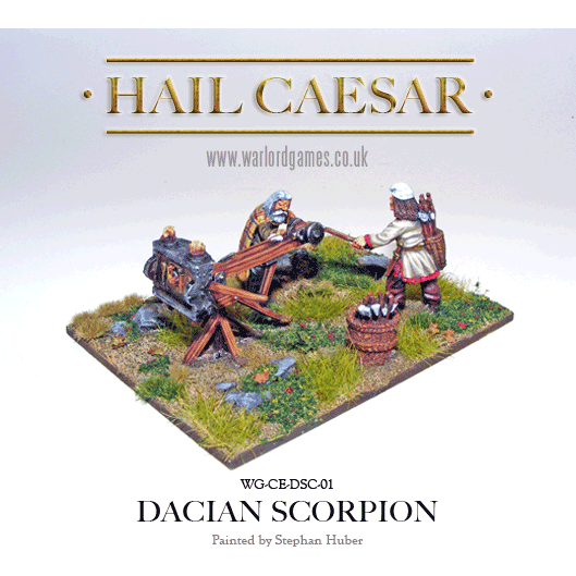 Hail Caesar Dacian Scorpion Catapult New - TISTA MINIS