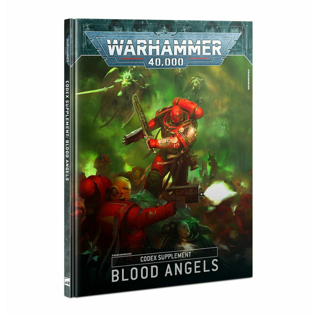 Warhammer CODEX: BLOOD ANGELS New - TISTA MINIS
