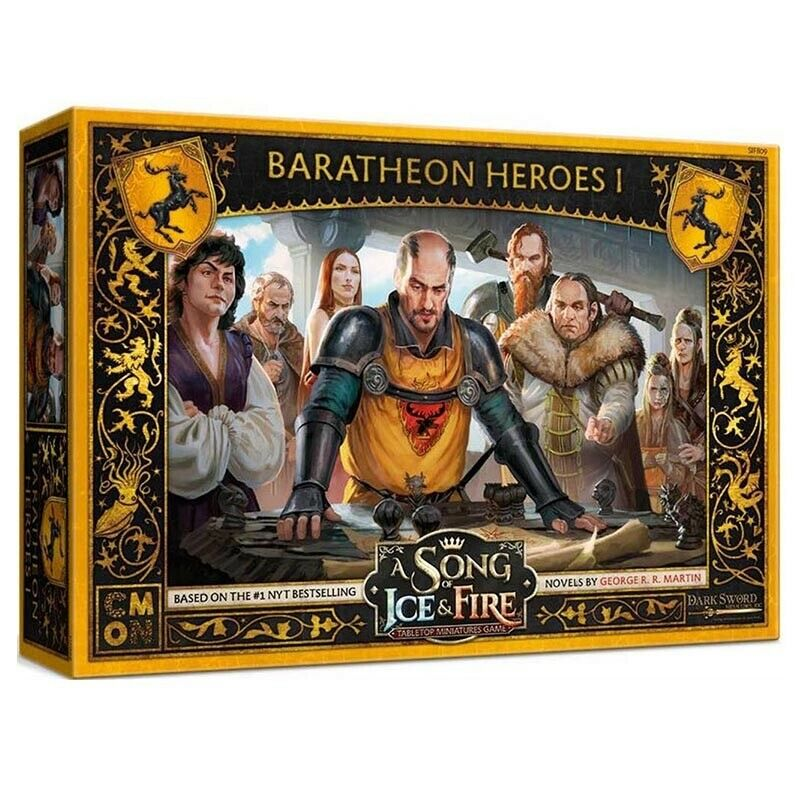 Song of Ice and Fire - Baratheon Heroes #1 New
