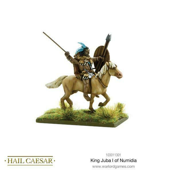 Hail Caesar King Juba I of Numidia New - TISTA MINIS
