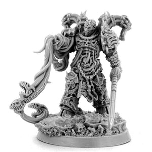 Wargame Exclusive CHAOS ETERNAL CHAMPION 28mm New - TISTA MINIS