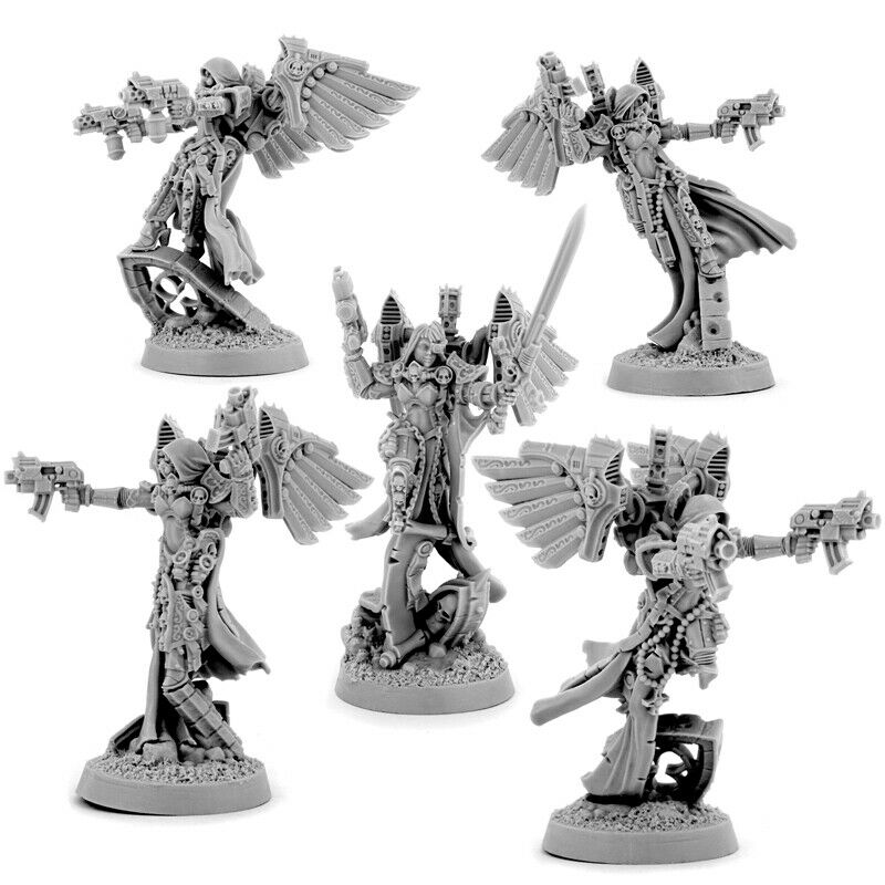 Wargame Exclusive EMPEROR SISTERS ANGELS SQUAD (5U) New