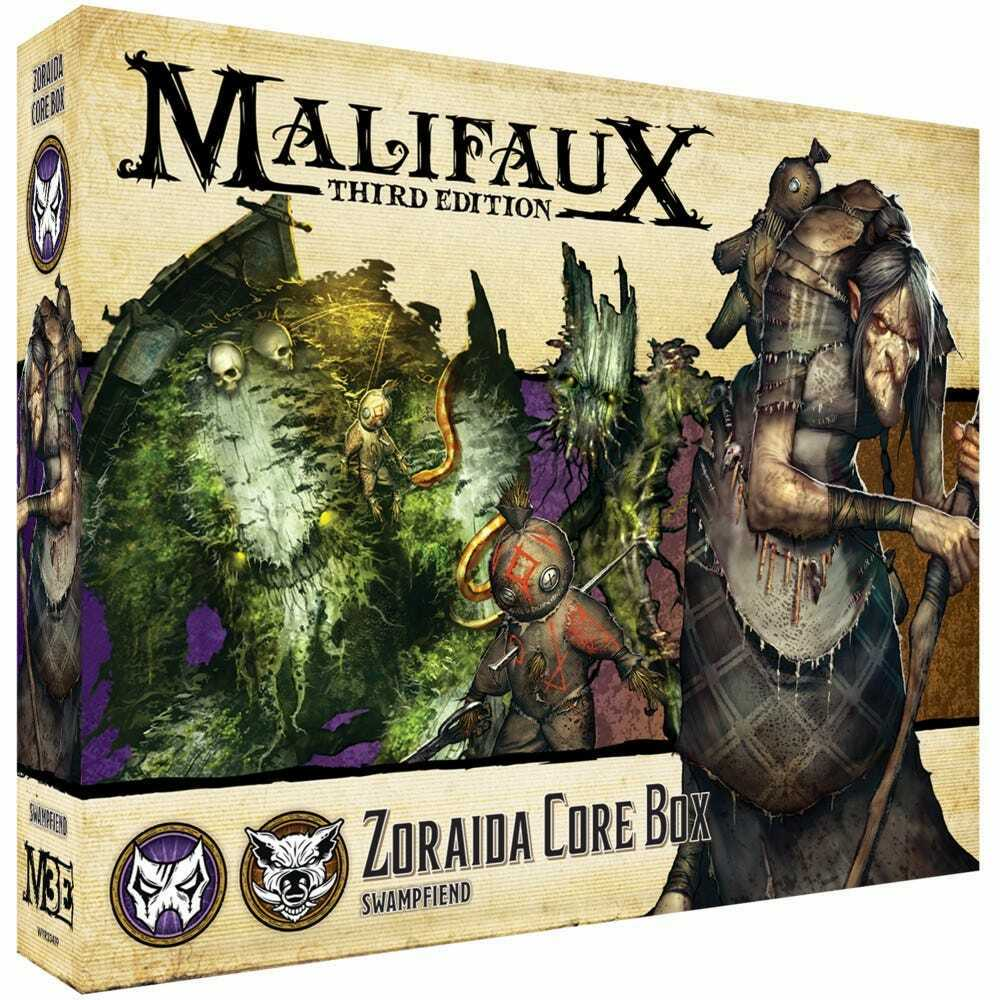 Malifaux Neverborn Bayou Zoraida Core Box New - Tistaminis