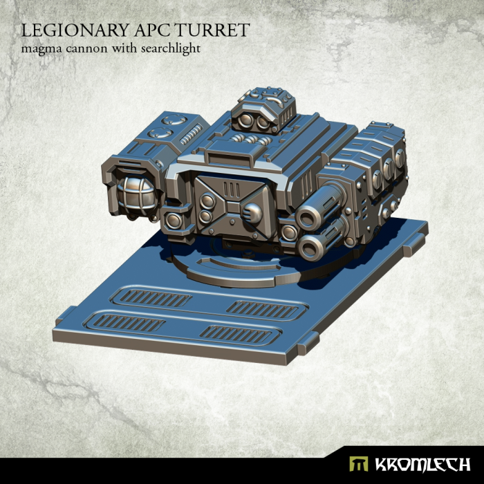 Kromlech Legionary APC Turret: Magma Cannon with Searchlight