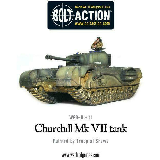Bolt Action British Churchill Mk VII New
