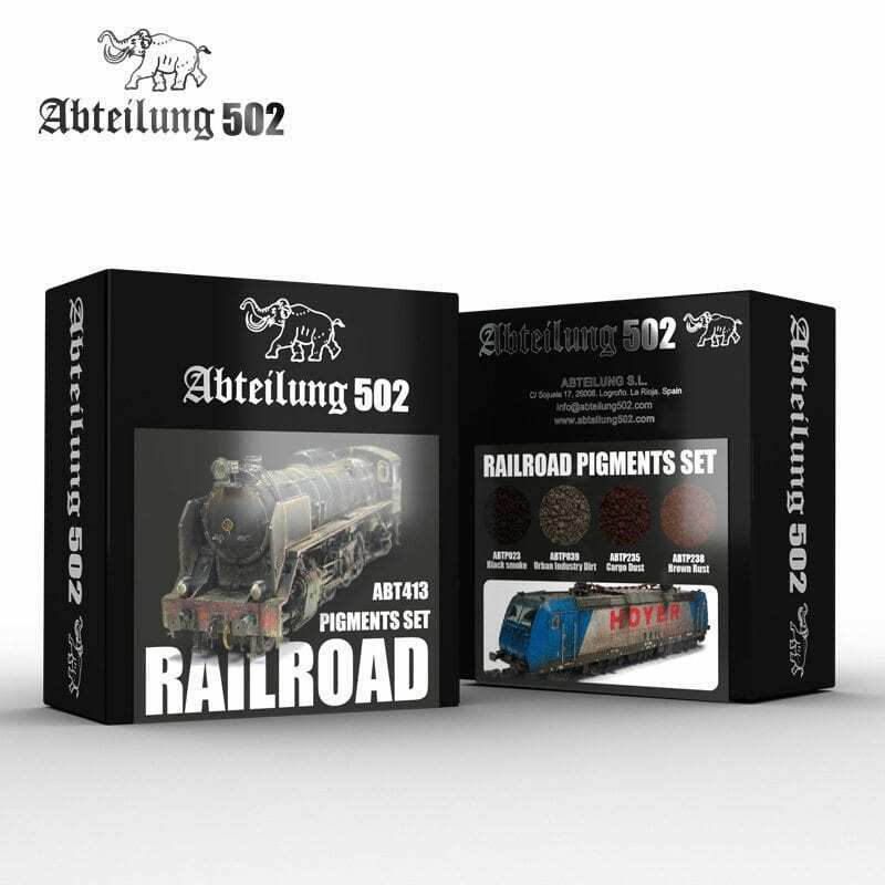 Abteilung502 Railroad Pigments Set New - TISTA MINIS