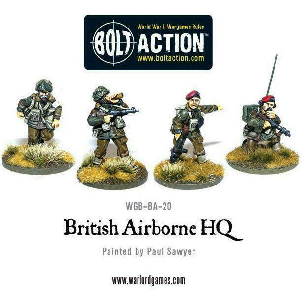 Bolt Action British Airborne HQ New