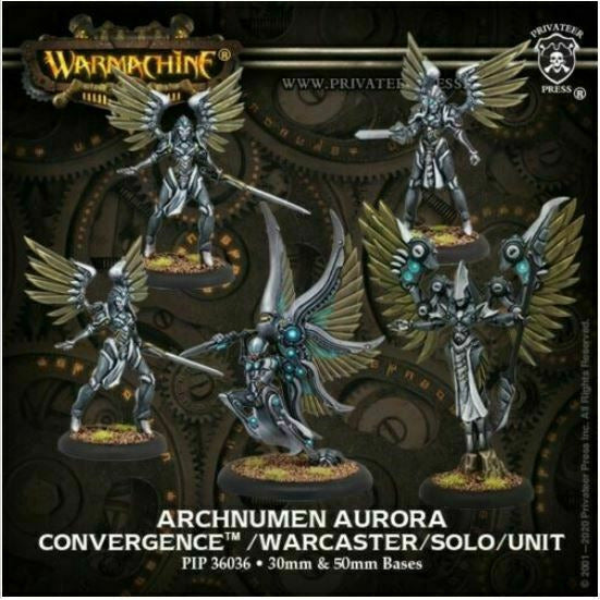 Warmachine Convergence of Cyriss - Archnumen Aurora New