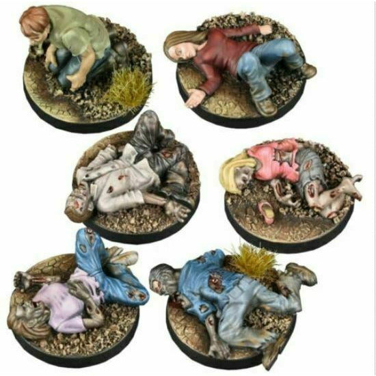 The Walking Dead: Prone Figures Booster New - TISTA MINIS