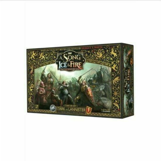 Song of Ice and Fire: Stark vs. Lannister Starter Set New