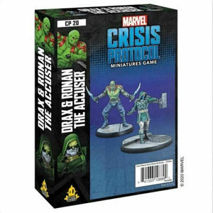 Marvel Crisis Protocol Drax & Ronan the Accuser New