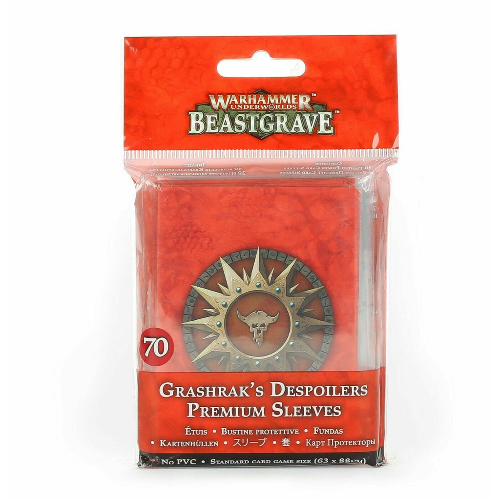 Warhammer Underworlds GRASHRAK'S DESPOILERS SLEEVES New