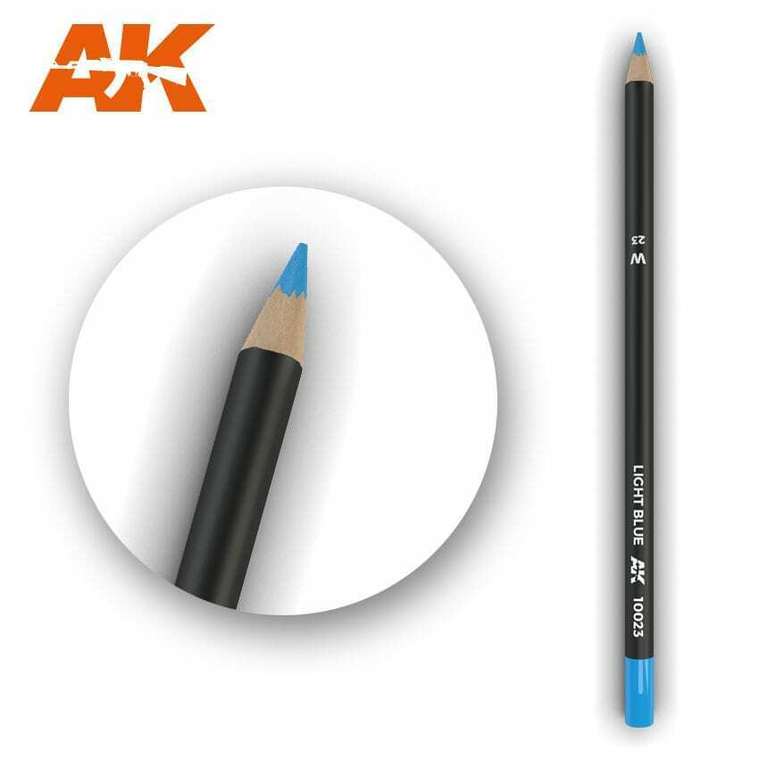 AK Interactive Watercolor Pencil Light Blue New - TISTA MINIS
