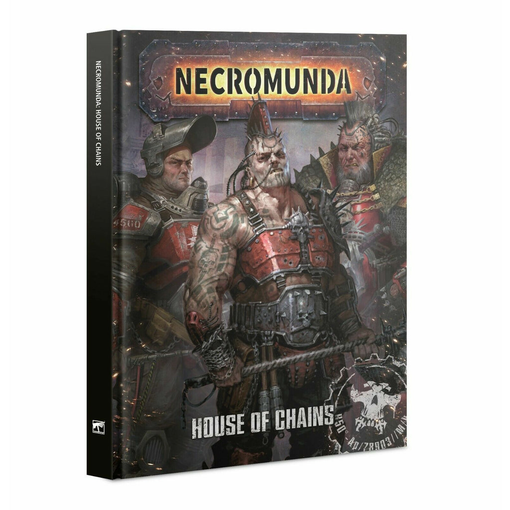Warhammer NECROMUNDA: HOUSE OF CHAINS New - TISTA MINIS