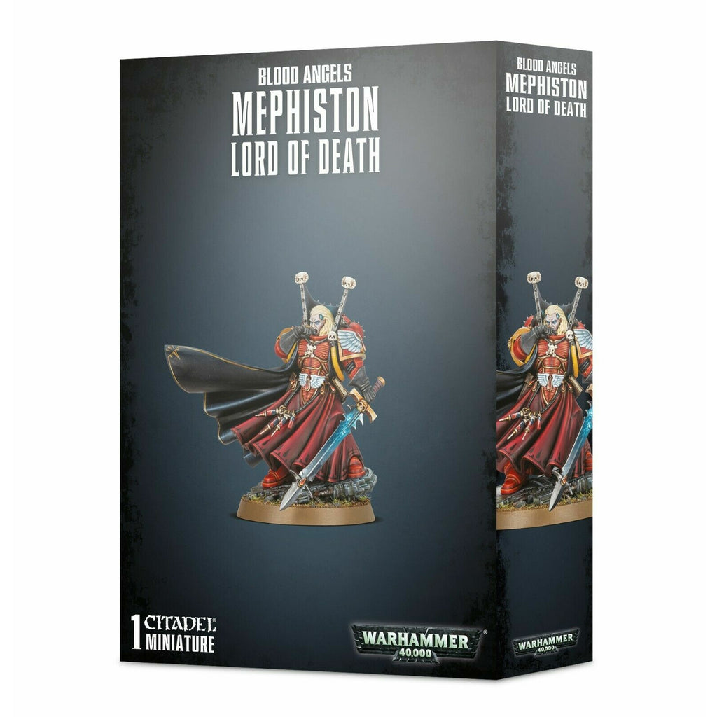 Warhammer BLOOD ANGELS MEPHISTON LORD OF DEATH New - TISTA MINIS