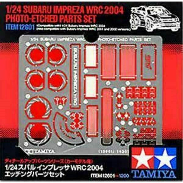 Tamiya TAM12601 IMPREZA PHOTO- ETCHED PARTS SET (1/24) New