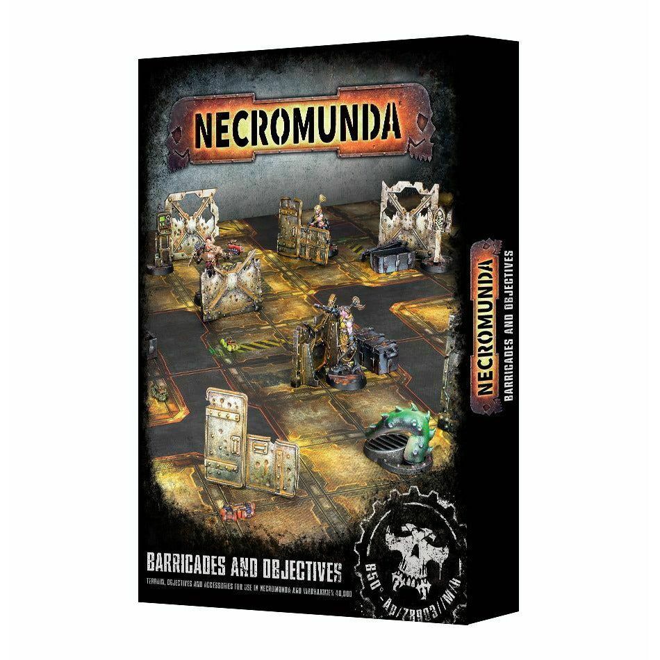 Warhammer Necromunda Barricades and Objectives New - TISTA MINIS